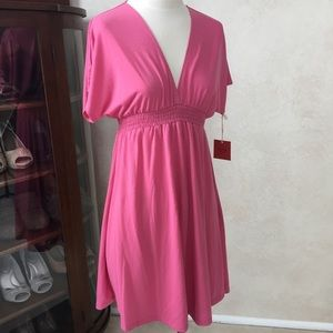 New w Tags Mossimo Pink Swim Coverup Size Medium